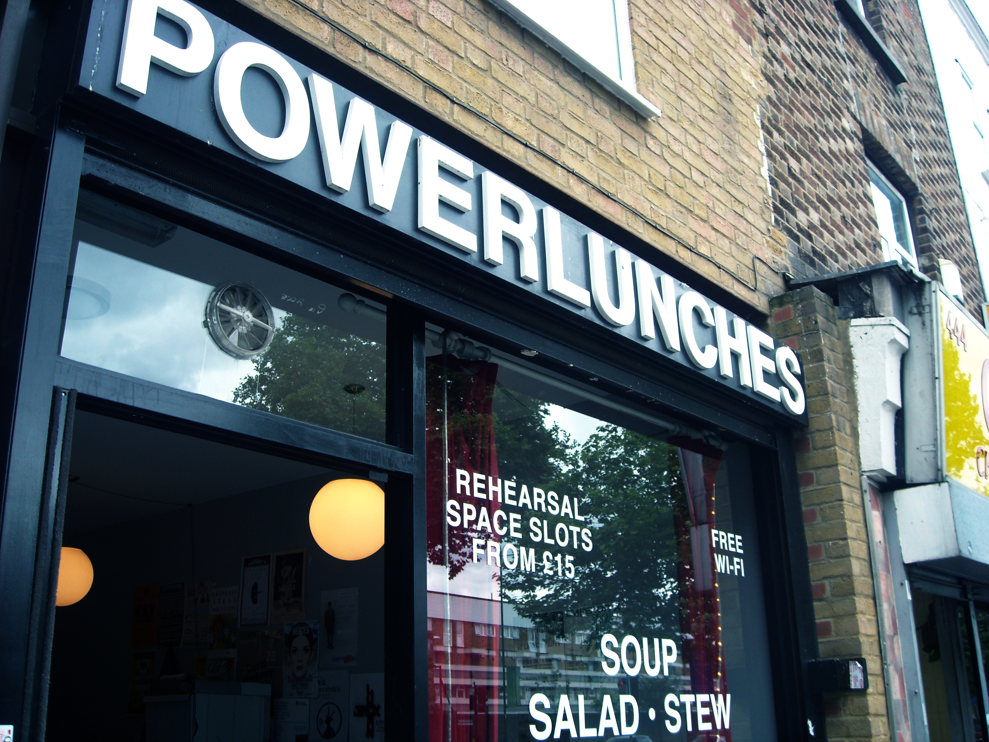 Power Lunches Arts Cafe