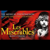 Les Misérables From Monday 23 October to Saturday 3 March 2018