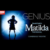 Matilda the Musical From Tuesday 3 November to Friday 30 April 2021