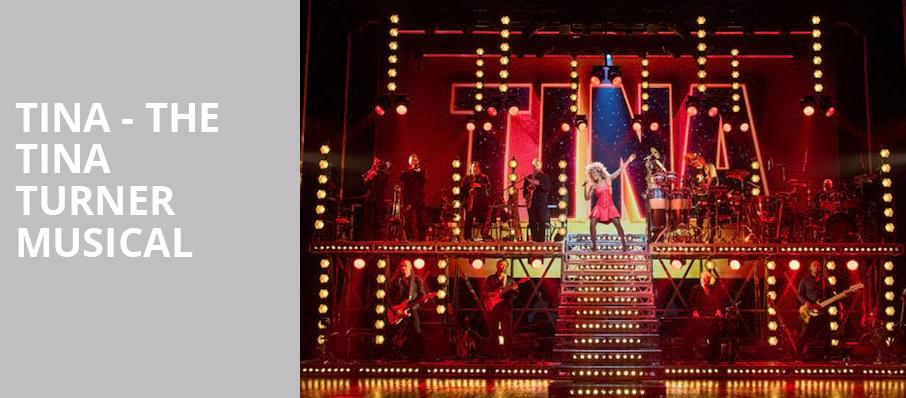 Tina - The Tina Turner Musical From Tuesday 1 June to Wednesday 1 September 2021 New York