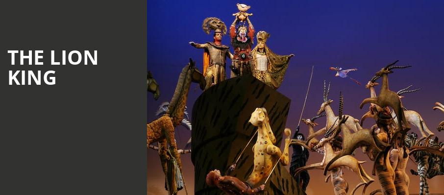 The Lion King From Tuesday 1 June to Wednesday 13 October 2021 New York